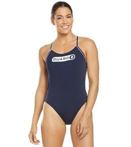 TYR Women's Guard Cutoutfit One Piece Swimsuit