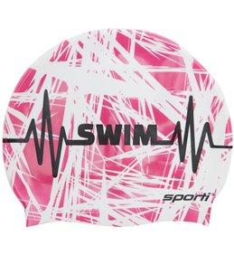 Sporti Swim Beat Silicone Swim Cap