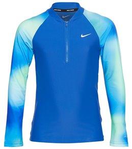 Nike Girls' Spectrum Long Sleeve Hydroguard (Big Kid)