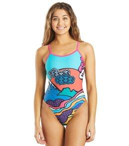 Sporti Tokyo Pop Thin Strap One Piece Swimsuit