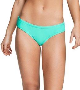 Speedo Women's Solid Cheeky Hipster Bikini Bottom