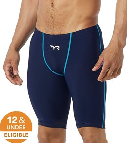 TYR Men's Thresher Short Jammer Tech Suit Swimsuit