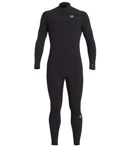 Billabong Men's 3mm 302 Furnace Comp Chest Zip Full Wetsuit