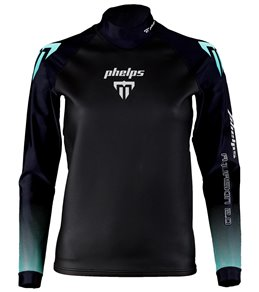 Phelps Women's Aqua Skin Thermal Protection Long Sleeve Top Swimskin